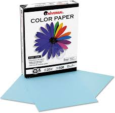 unv11202 blue color copy paper by universal ontimesupplies com