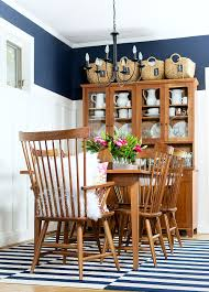 Shaker Dining Room Chairs Shaker Dining Room Navy U0026 Pink For Spring It All Started With Paint