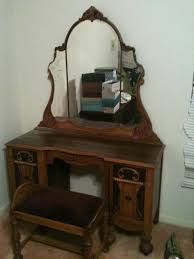 Antique Walnut Bedroom Furniture Antique Bedroom Vanity With Mirror Bedroom Vanities Design Ideas