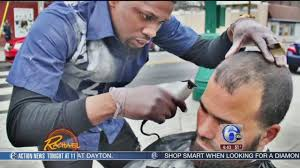 local barber spreading kindness with free haircuts for homeless