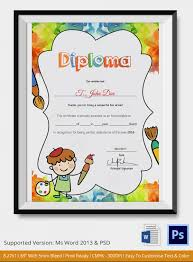 preschool diploma diploma for preschool city espora co