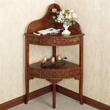 Corner Entryway Table Fabulous Corner Accent Table With Lovable Corner Accent Table