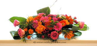 Vases With Flowers And Floating Candles Wedding Centerpieces Vickie U0027s Flowers Brighton Co Florist