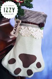 diy tutorial puppy dog paw print christmas stocking izzy hudgins