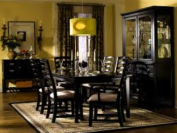 steve silver hartford piece round dining roomt w brownts