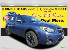 blue subaru crosstrek 2017 quartz blue pearl subaru crosstrek 2 0i limited 117041557