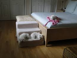 raised dog bed with stairs sets best raised dog bed with stairs