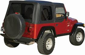 jeep grill skin rampage products replacement soft top with skins u0026 tinted windows