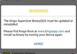 superuser update apk su binary install and update kingo superuser