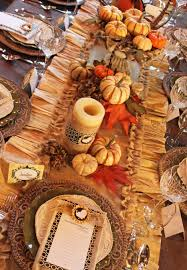 table thanksgiving accessories archaic decorating ideas using rounded brown pumpkins