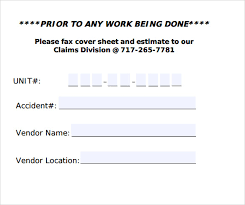 sample fax cover sheet u2013 11 documents in pdf word