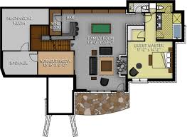 Timber Floor Plan by The Dakota Ridge Floor Plan By Canadian Timberframes Ltd