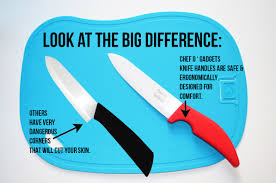 ceramic knife set u2013 chef u0027s organic gadgets