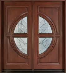 wood glass front doors custom solid wood entry doors pictures eva furniture