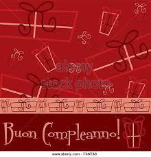 italian happy birthday card in stock photos u0026 italian happy