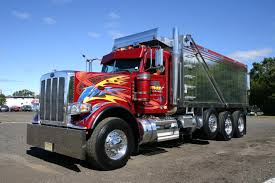 2015 kenworth dump truck peterbilt custom 389 tri axle dump dump truck pictures and end