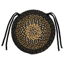 Home Decor Star by Ihf Home Decor Round Chair Cover Pad Braided Rug 15