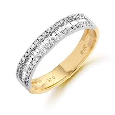 wedding bands ni half carat baguette and diamond ring wedding bands n i