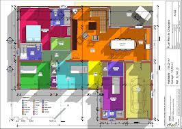 plan de maison 4 chambres plan maison plain pied 4 chambres avec suite parentale