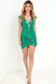 green sequin dress oasis amor fashion