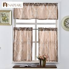 Luxury Kitchen Curtains by Online Get Cheap Short Kitchen Curtains Aliexpress Com Alibaba