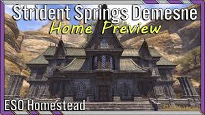 Imperial Home Decor Group Strident Springs Demesne Eso House Preview Imperial Large House