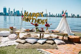 wedding arches hire perth bohemian picnic party perth event venues by lenzo