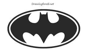 how to draw batman u0027s logo drawingforall net