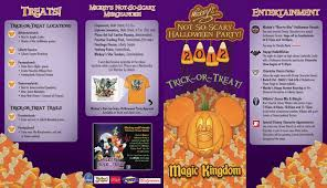 mickey u0027s not so scary halloween party guide photo 1 of 2