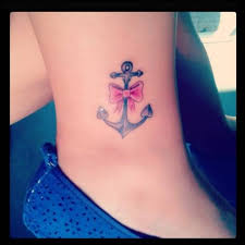 marvelous bow tattoo design on ankle goluputtar com