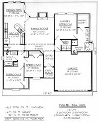 Floor Plans For Small Houses With 2 Bedrooms 2 Br 1 Bath House Plans Arts Bedroom Home Floor Small 3 Luxihome