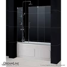 Mirage Shower Doors Dreamline Showers Mirage Sliding Tub Door