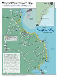 Mail Map Marginal Way Preservation Fund Website Printable Map Google