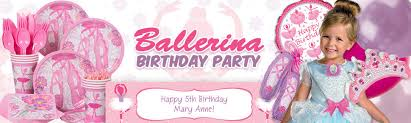 ballerina party supplies ballerina party ideas ballet party ideas at birthday in a box