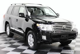 used toyota 2014 2014 used toyota land cruiser certified landcruiser v8 4wd suv 3rd