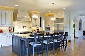 contemporary kitchen with kitchen island by home stratosphere