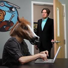 Horse Head Mask Meme - the horse head mask thinkgeek