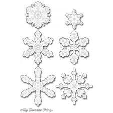 my favorite things die namics layered snowflakes ellen hutson