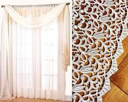 macrame lace curtains macrame lace curtains curtain giverny
