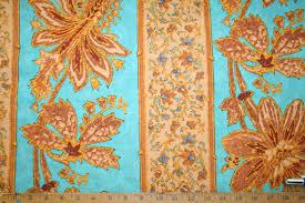 ralph lauren design renier stripe aqua linen cotton blend fabric
