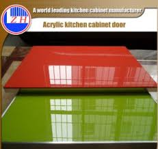 Factory Direct Kitchen Cabinets China Factory Direct New Design Scratch Resistant Laminate Acrylic