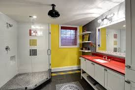 gray and yellow bathroom ideas trendy and refreshing gray and yellow bathrooms that delight