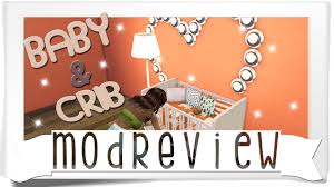 How To Keep Cats Out Of Baby Crib by The Sims 4 Mini Mod Review Baby And Crib Mod Youtube