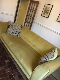 dfs mustard fabric sofa retro unique style in sheffield south