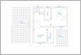 House Plans For A View Kerala House Plans For A 1600 Sq Ft 3bhk House