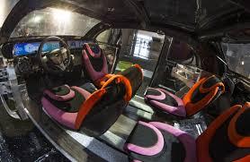 general motors headquarters interior cu icar students unveil deep orange 5 vehicle concept at gm