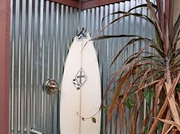 corrugated metal fence his design is made with giant sheets of