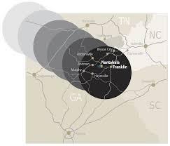 North Carolina Zip Code Map by 2017 Total Solar Eclipse North Carolina Best Views Nantahala