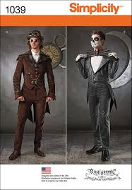 steampunk sewing patterns dresses coats plus sizes men u0027s patterns