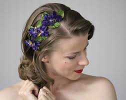 1950s headband accessories with a story to tell by chatterblossom on etsy